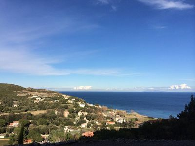 Photo for rental F3 superb view Corsican cape