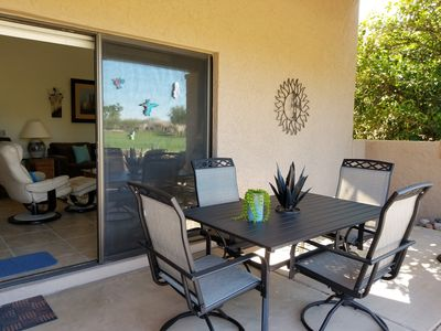 Photo for Rio Verde Townhouse overlooking the golf course.