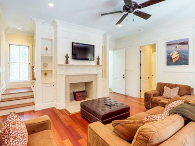 Photo for NEW LISTING! Multi-level home w/private pool, lanai & enclosed deck-beach nearby