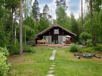 Photo for Vacation home Beach 2, iso-naappilan lomamökit  in Asikkala, Häme Pirkanmaa - 7 persons, 2 bedrooms