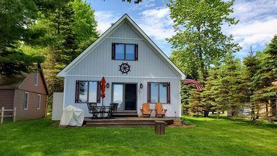 Photo for Black Lake Beach Front House