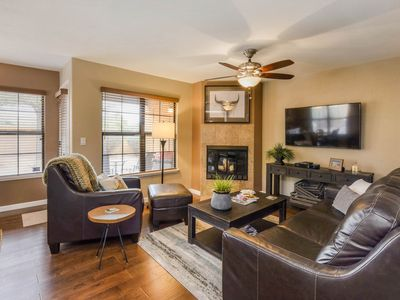 Photo for NEW LISTING! Updated condo w/ shared heated pool, hot tub, tennis, & gym