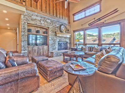 Photo for Utmost in Deer Valley Elegance - Perfect for Families - Shuttle, Hot Tub, Theatre & Elevator