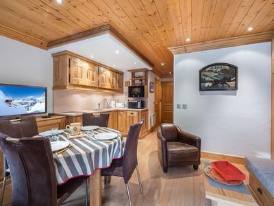 Photo for Tremplin 1 - Charming apartment in the resort