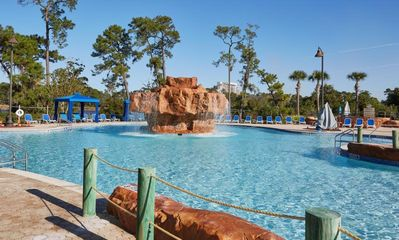Photo for MINUTES TO DISNEY, UNIT FOR 4! POOLS, TENNIS, GYM!