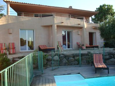Photo for Villa 220sqm with sea view, views of Bavella, heated pool