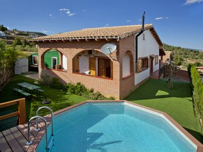 Photo for Espígol rural house - 20 places (private pool and barbecue)