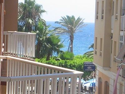 Photo for Apartment in quiet beach with terrace and sea views