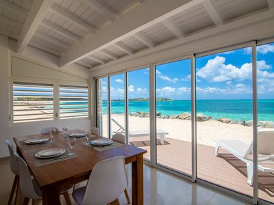 Destination. Beach Front, Water front, Ocean View condo St Martin