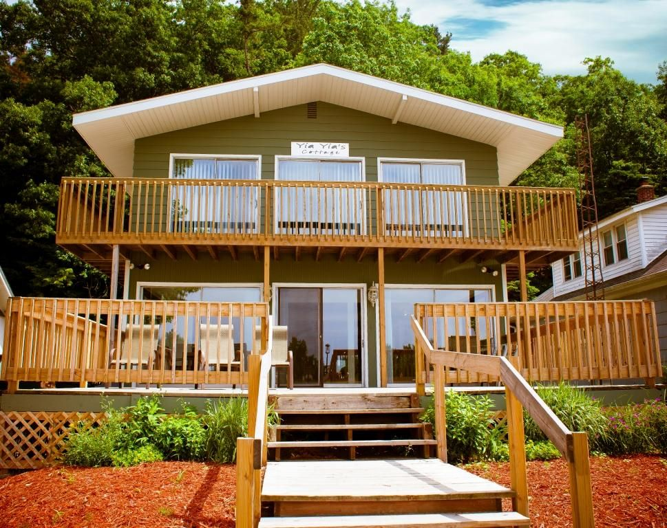 View from the Board Walk. Yia Yia s 4 Bedroom Cottage On Boardwalk       HomeAway Grand Haven