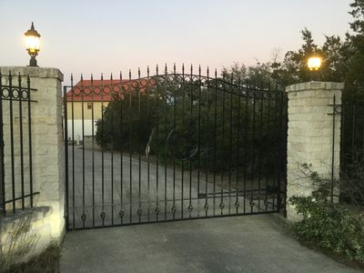 Photo for Beautiful Texas hill country home on 55 acres. 5 bd 3 ba sleeps 10.