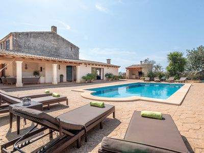Photo for Majorcan Holiday Home with Pool, Wi-Fi, Garden and Patio; Parking Available