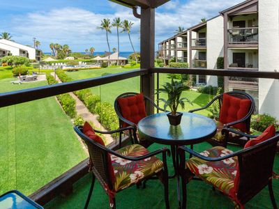Photo for #221 Second floor condo, easy access to best beach on Maui!