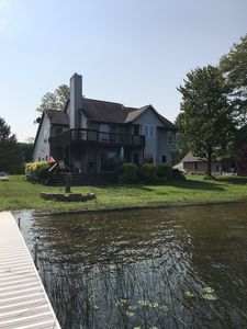 Spacious & comfortable family friendly home with unbeatable lake location!