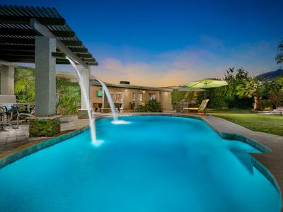 Photo for NEW LISTING! Luxurious home w/ incredible backyard area, private pool, 1 dog ok!