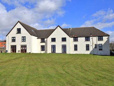 Photo for A beautiful 3 bedroomed apartment overlooking Elie harbour and beach