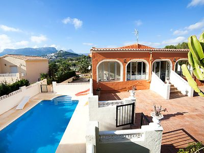 Photo for Vacation home Cormoran  in Calpe/ Calp, Costa Blanca - 16 persons, 8 bedrooms