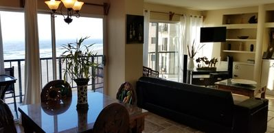 Photo for Wow What a View!! Down Town Oceanfront Condo, 24 hour security, beach access