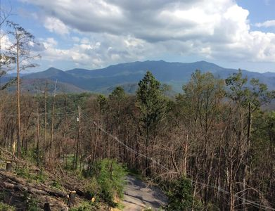 New wider view of the Smoky Mountain National Park in summer