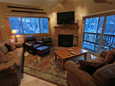 Photo for Snow Flower Condo #158, 3 bed/ 3 bath, sleeps 10 SKI-IN/SKI-OUT to Park City Mountain Resort