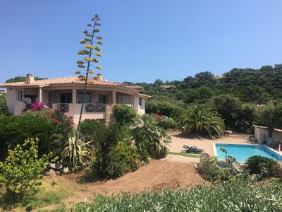 Photo for LUXURY VILLA SEA VIEW (800m) AND COVERED HEATED SWIMMING POOL MOUNTAIN