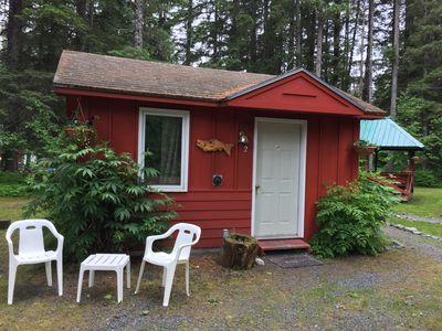Photo for Cozy Cabin For Two In The Woods Near Downtown Seward Ak