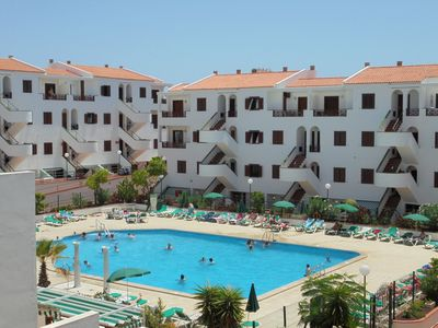 Photo for Los Cristianos, 1 bedroom apartment, 2-4 persons, swimming pool, 300 m from the sea