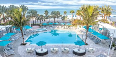 Tranquil Beach Side Resort - Outdoor Pool - Fitness Ctr - Spa - Pool Bar & Grill