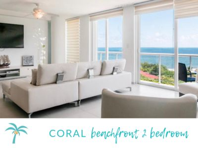 Photo for * CORAL Beachfront 2 BDR- Amazing oceanview*
