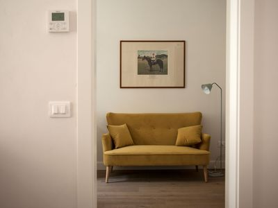 Photo for Cozy apartment overlooking a court