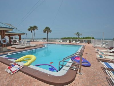 Redington Shores Florida Vacation Rental Condo - Two Bedroom, Two Bath-Heated Communal Pool with Hot Tub