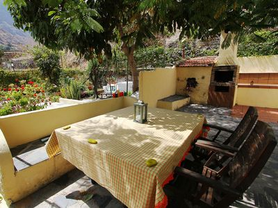 "Photo for Casa Rural ""Pilar"" - several terraces, two barbecues, quiet, close to the sea"
