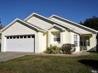 Photo for 4-Bed Disney Area Vacation Pool Home with OUTDOOR SPA!