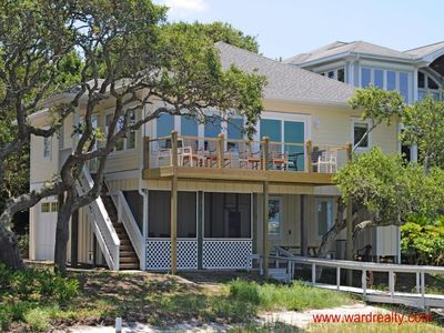 Photo for Beautiful Sunsets! 4BR Sound Front Home with Dock & More! - Peace of Paradise