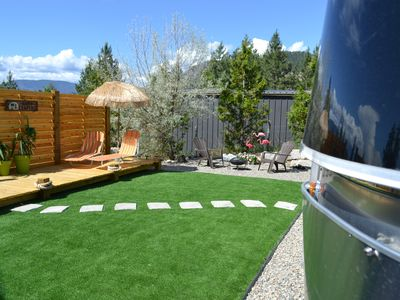 Photo for Luxury Airstream at the Poolside Retreat