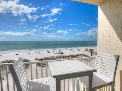 Photo for All Renovated Inside. Gorgeous Beachfront Studio Condo. Perfect Views From Private Balcony.