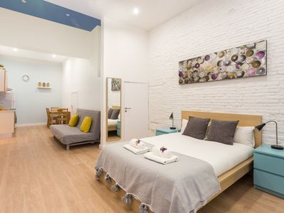 Photo for Nice & cozy loft in downtown Barcelona