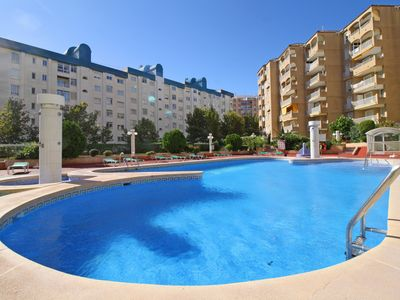 Photo for Apollo VII apartment centrally located with pool, air conditioning and terrace near the beach in Calpe