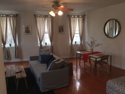 Photo for Spacious 2BR 2BTH Bi Level Apt with roof deck in the heart of Northern Liberties