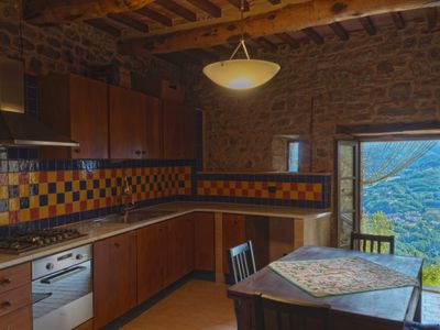 Photo for Huge Medieval Apartment in historic Tuscan Villa, 100% remodeled + pool