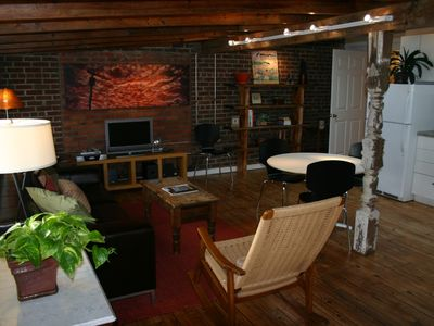 Photo for Contemporary Downtown Brevard Loft