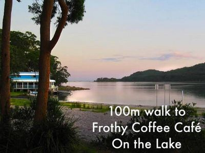 Photo for Cosy Lakeside Cottage, Pet Friendly and very close to Surf Beaches, Club & Cafes
