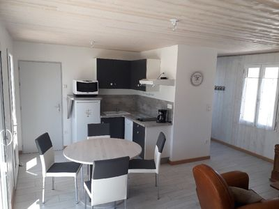 Photo for New house in Vieil, 200m beaches and shops, 4 bikes, WIFI