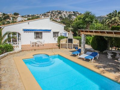 Photo for Kathrin - beautiful little house in pretty grounds with lovely views in Benissa