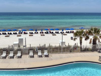 Photo for Spacious unit with a Gulf Front Master located on the 3rd floor. Free WiFi, huge balcony with lots o