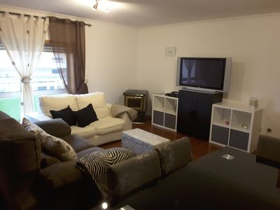 Photo for Apartment T3, with 2 bathrooms, laundry, heating, PS2 games and pets accepted