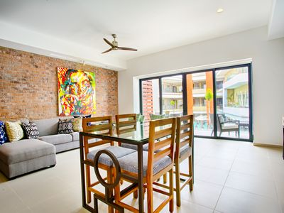 Photo for Contemporary Condo at Loft 268   Rooftop Pool, Great for Couples