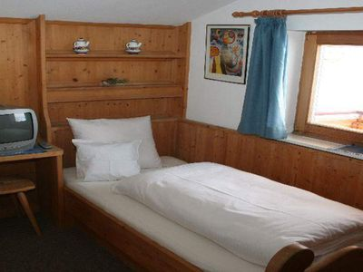 Photo for Single room, shower, toilet and TV - Pension-Gasthof Widauer