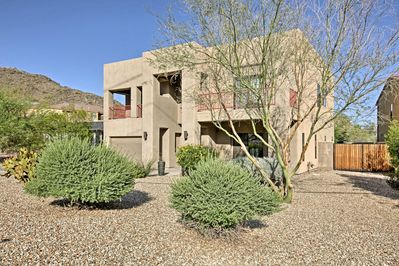 Escape the hustle and bustle of the city and unwind at this Phoenix home!
