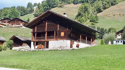 Photo for CHALET SAVOYARD WITH MAGNIFICENT VIEW